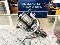 Máy câu cá Daiwa Crosscast Surf 45 SCW 5000CQD Chính hãng lô nông BH 1 Năm