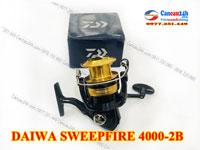 Máy câu cá Daiwa SWEEPFIRE 4000-2B, máy câu cá chính hãng Nhật