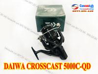Máy câu cá Daiwa Crosscast 5000C-QD, Máy câu cá Lô Nông Crosscast 5000