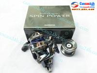 Máy câu cá Shimano Spin Power 5000-8000, Power Aero Spin Power 5-8