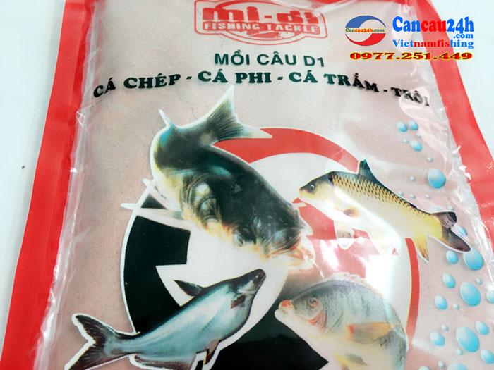 Mồi câu cá Định Đồng Diều D1, Mồi câu cá D1