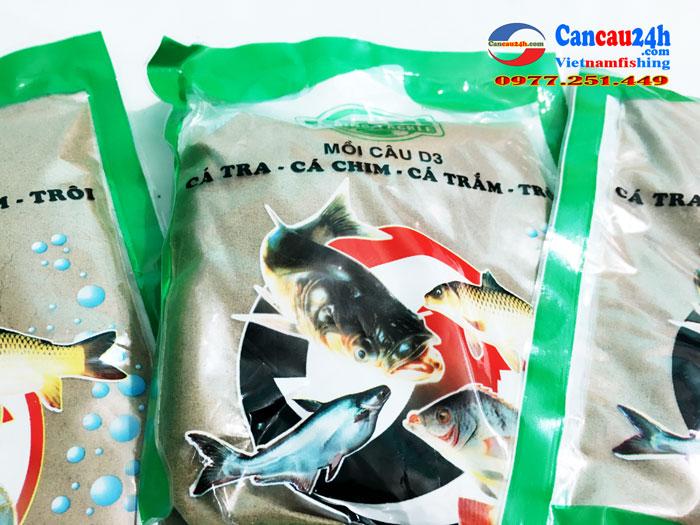 Mồi câu cá D3 Định Đồng Diều, Cám câu cá D3