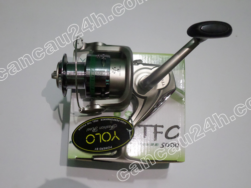 Máy câu cá YoLo TFC-5000, đồ câu cá, cần câu cá, lưỡi câu cá