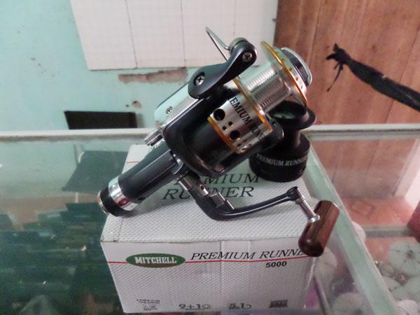 Máy câu cá Mitchell 5000, máy câu cá giá rẻ tại Hà Nội