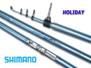 Cần câu Shimano holyday Surf Spin 3.65 FX-T, holyday surf spin 365FXT